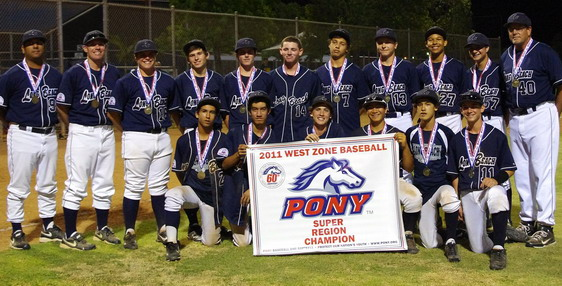 2011 PONY West Zone - Super Region Tournament Champions
