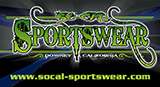 SoCal-Sportswear - GRAND SLAM Sponsor - Exclusive Equipment Provider to LBP